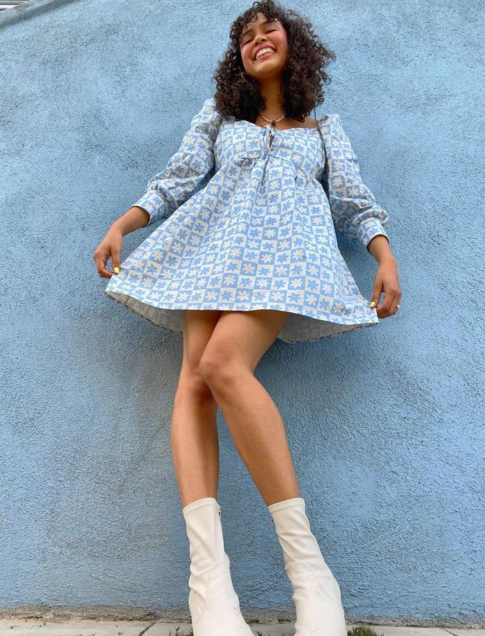 Best spring dresses 2021: Blue mini dress