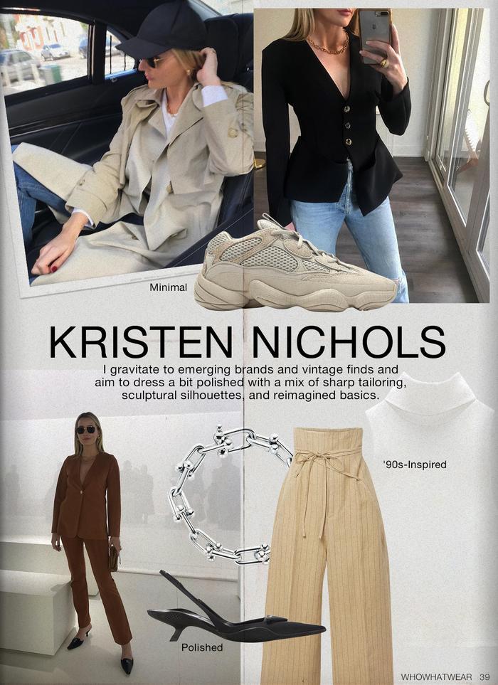 Fashion editor style: Kristen Nichols