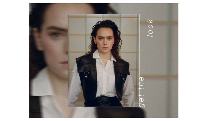 how to re-create Daisy Ridley's beauty cover look