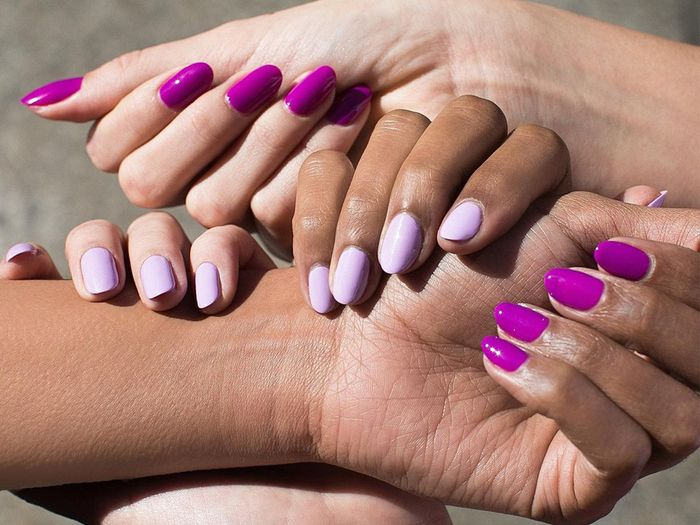 I Can't Stop With Purple Nail Polish Lately—These Are the Most Wearable Shades