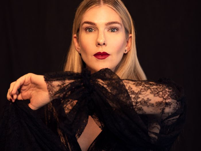When It Comes to Fashion and Work, Actress Lily Rabe Is a Fan of Repeat Business