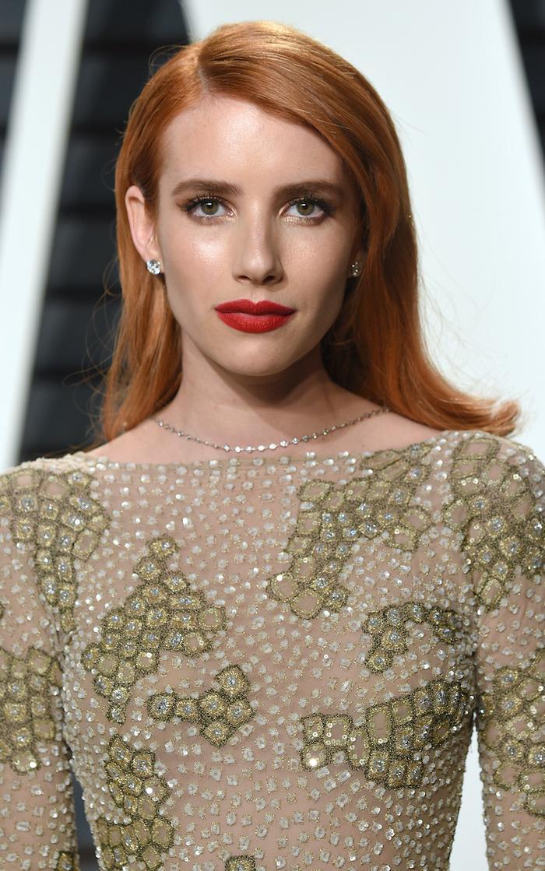 Copper Hair Colour: Emma Roberts