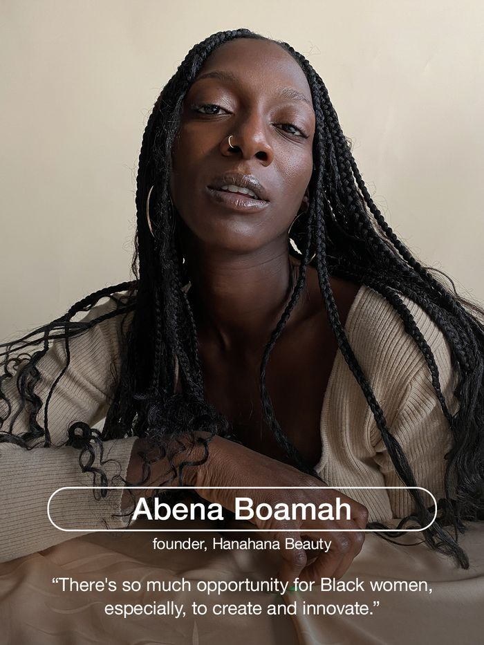 Abena Boamah, founder of Hanahana Beauty