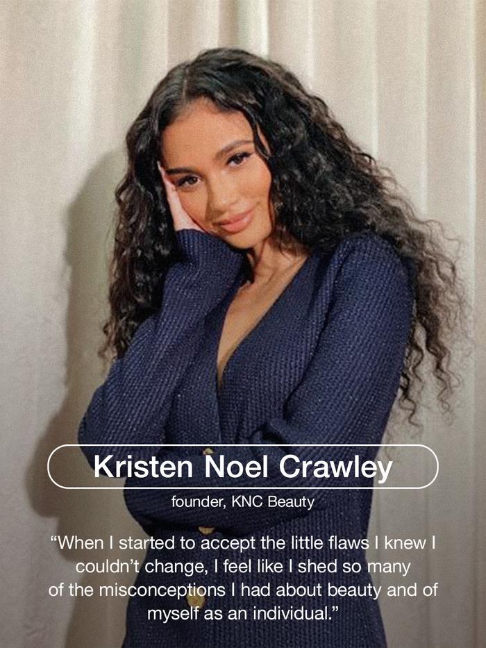 Kristen Noel Crawley, founder of KNC Beauty