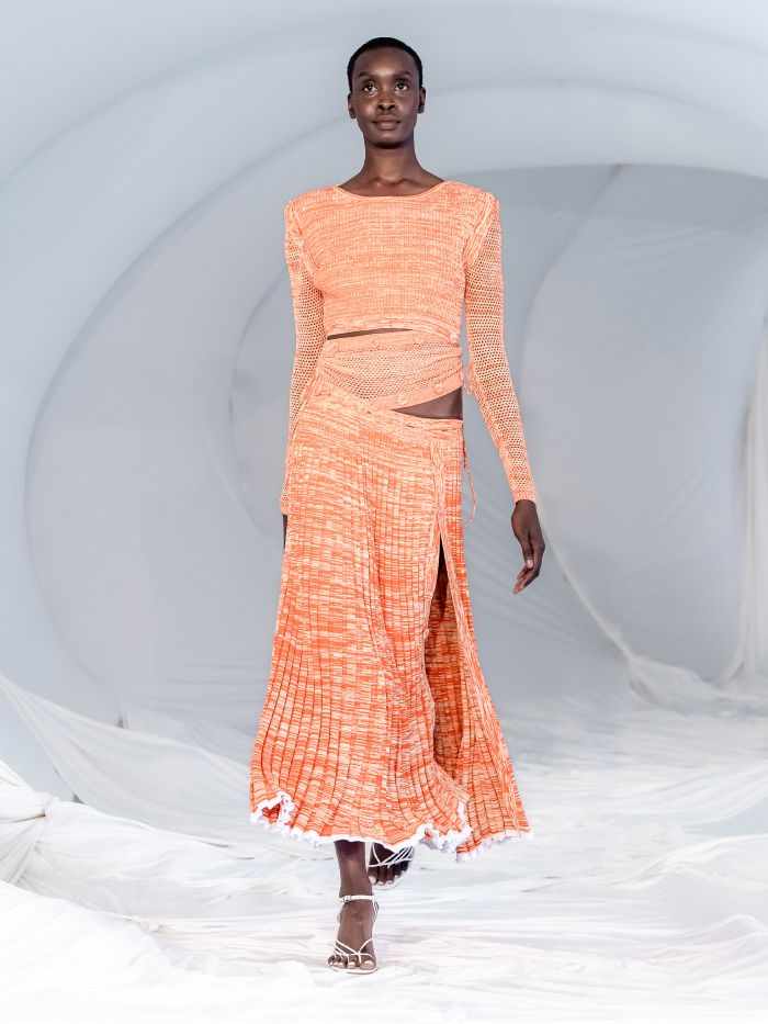 cut-out fashion trend 2021: Christopher Esber spring/summer 2021 runway