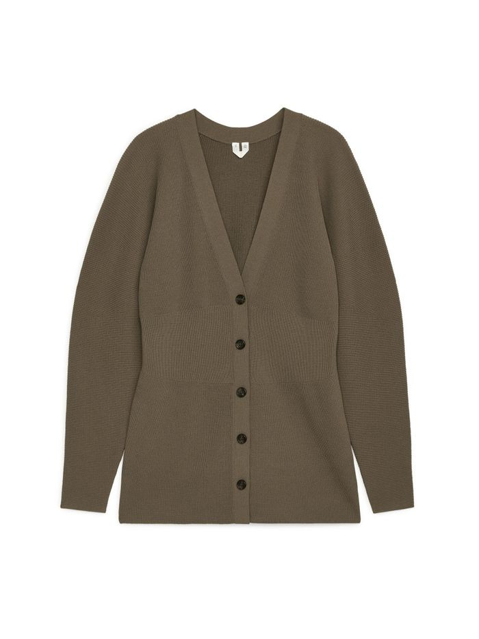 Arket Fitted Cardigan