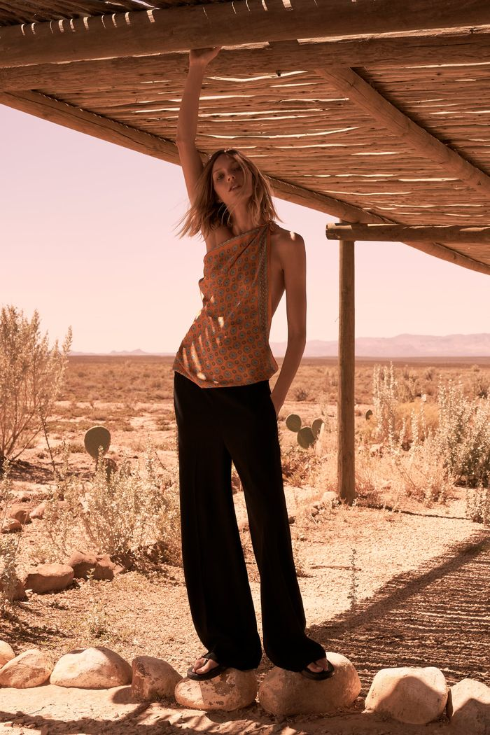Zara Limited Edition Flowing Trousers