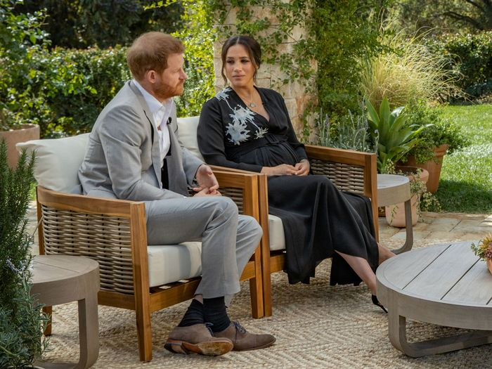 Meghan Markle and Prince Harry do an interview with Oprah