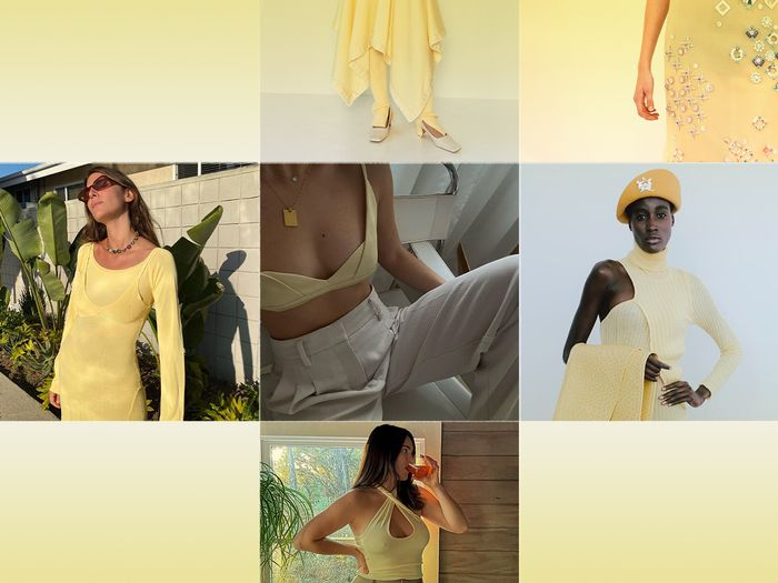 pale yellow trend