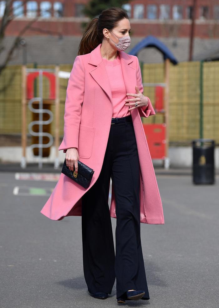 Kate Middleton pink coat: