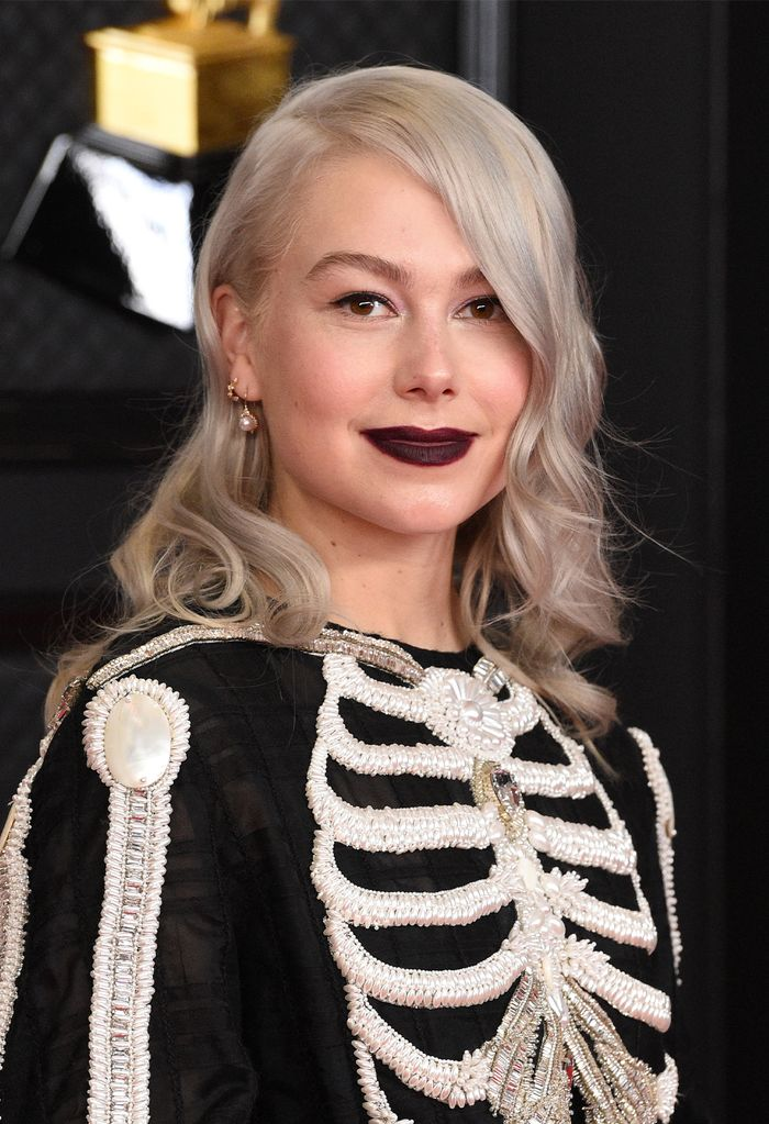 2021 Grammy Awards Red Carpet Arrivals and Beauty: Phoebe Bridgers