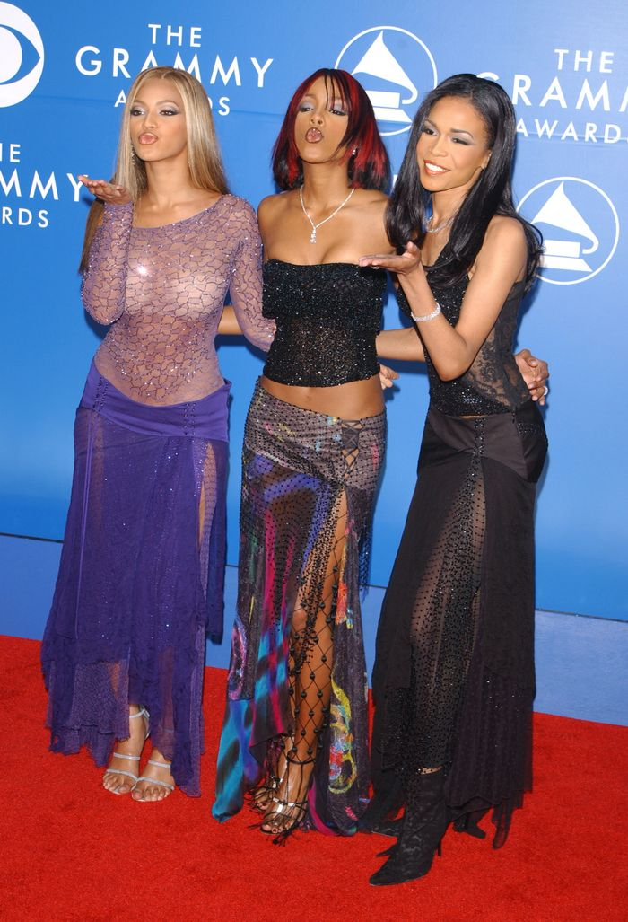 Destiny's Child at the Grammys in 2002
