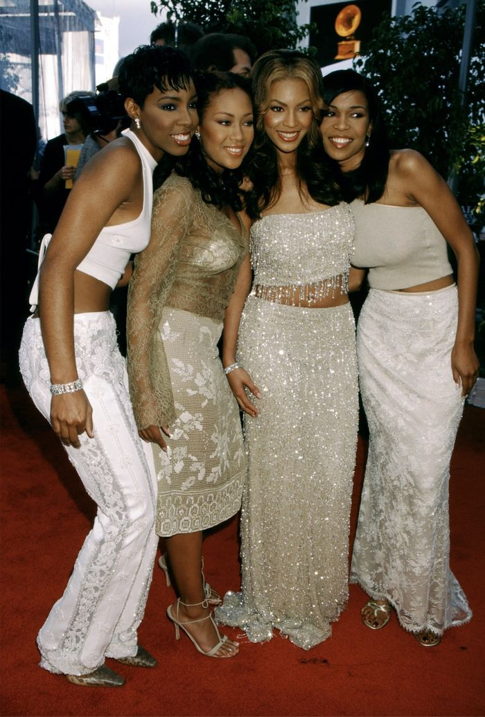 Destiny's Child at the Grammys in 2000