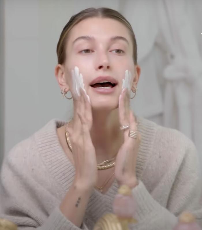 Hailey Bieber Skincare Routine: Biologique Recherche Masque Visolastine +