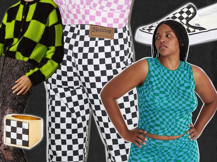 Pulse Check: Checkerboard Is Still Fashion's Favorite Print for 2021