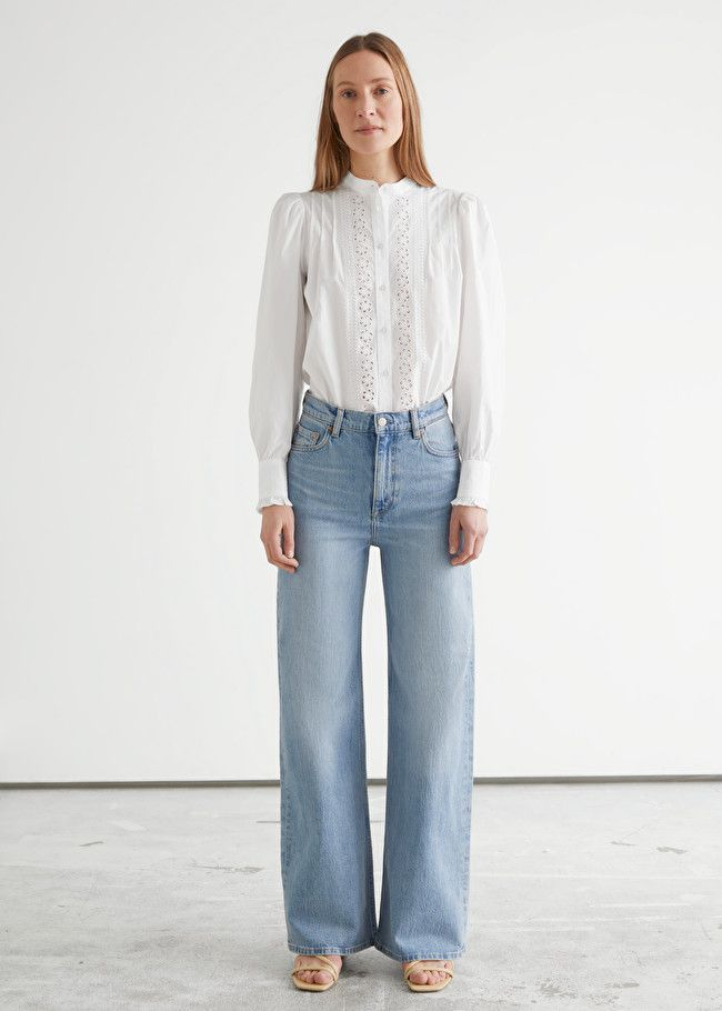 & Other Stories Treasure Cut Jeans