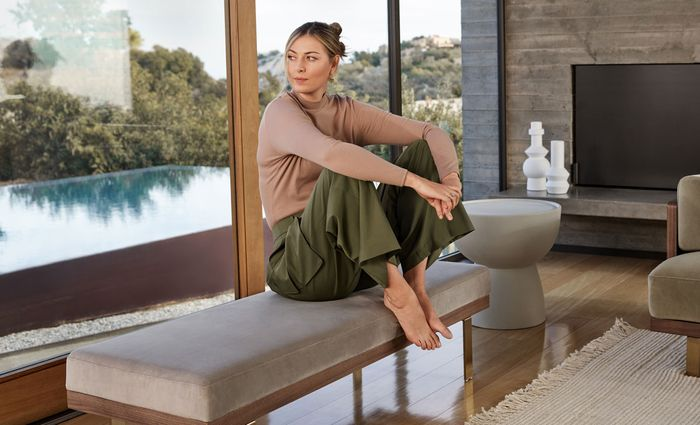 Maria Sharapova launches a home line with Rove Concepts - interview