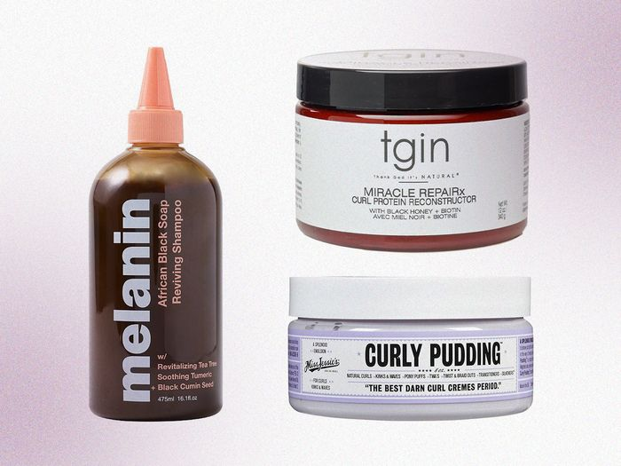 Black-owned hair products to shop online