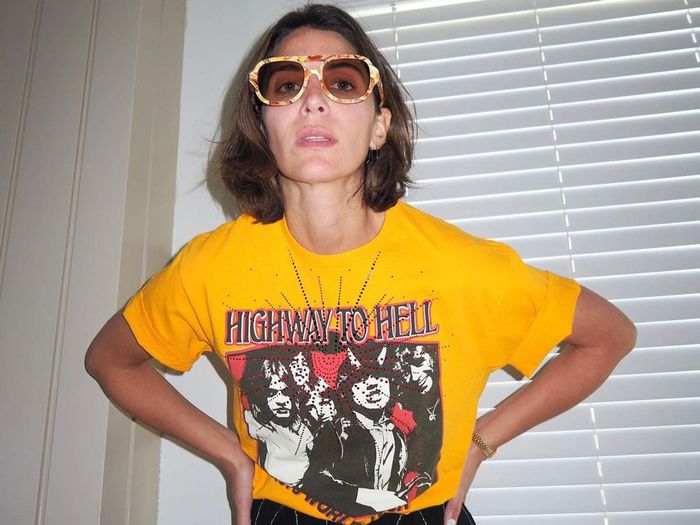 How 8 Fashion Girls Wear Band Tees From London to L.A.