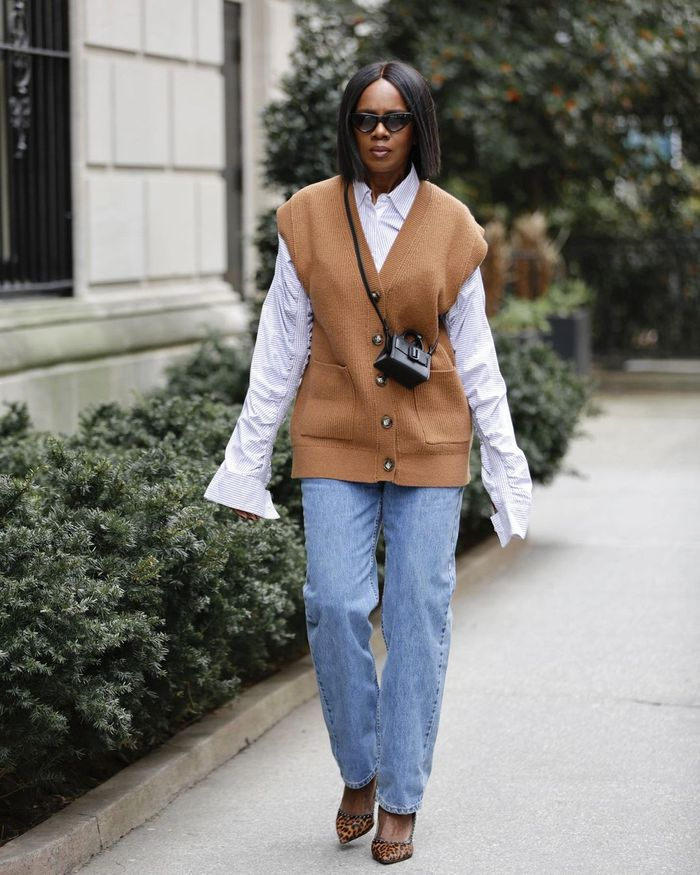 The best sweater vests at Zara