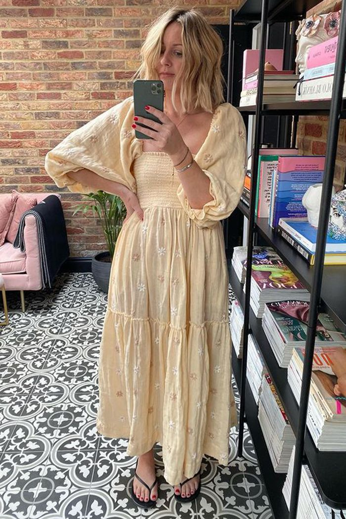 Free People smocked summer dress