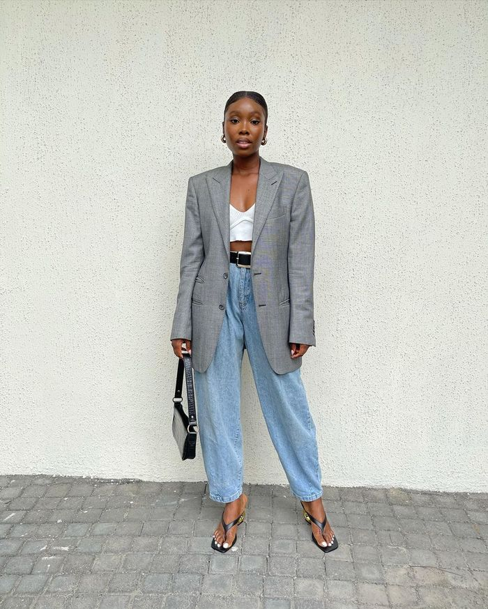 Trouser trends 2021: baggy jeans