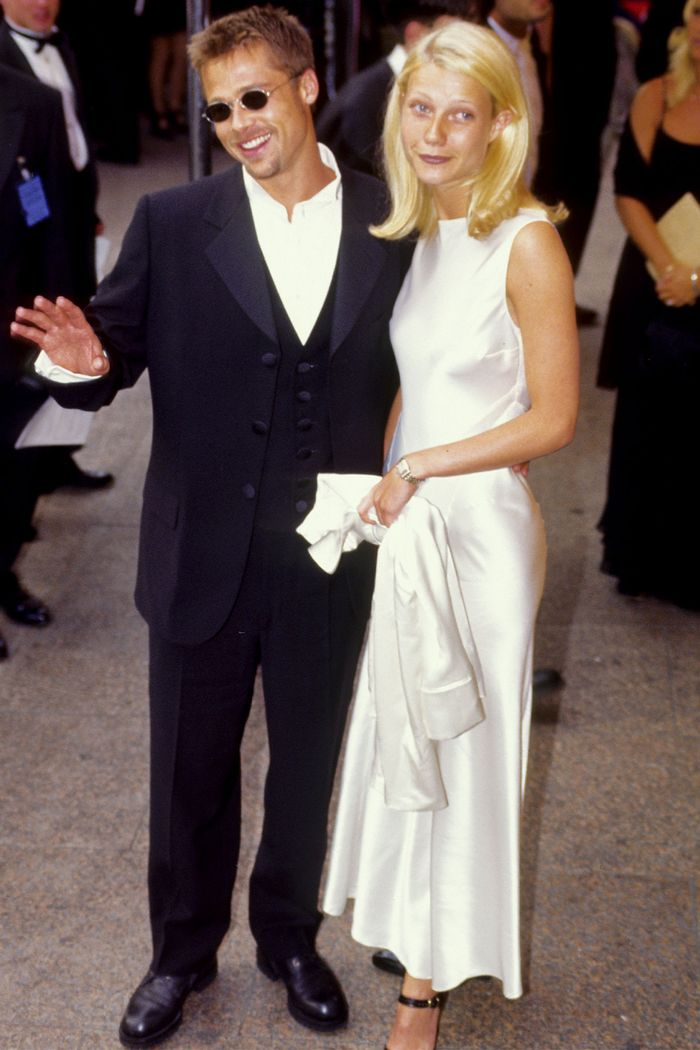 Easy 90s Outfits: Gwyneth Paltrow in a slip dress