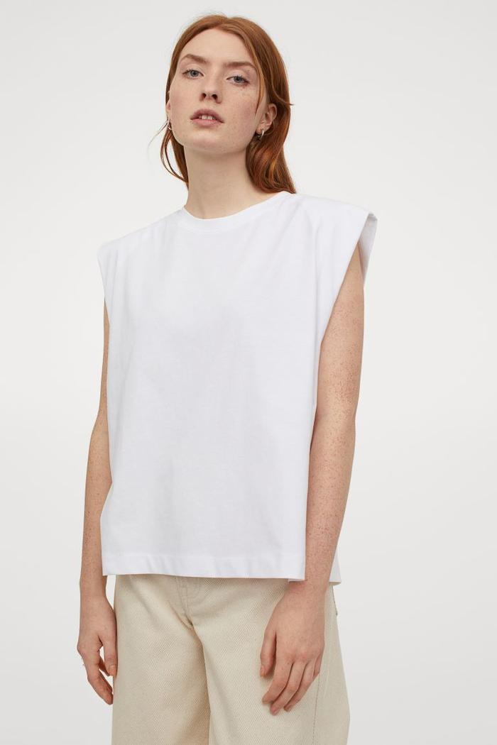 H&M Sleeveless T-Shirt