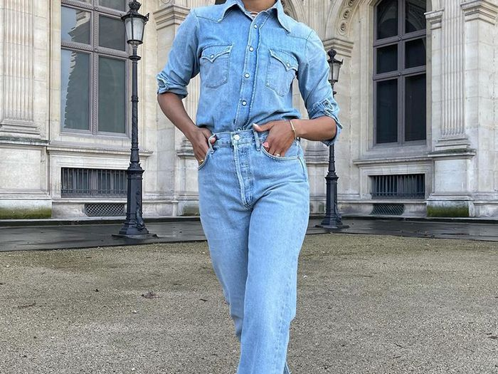The Polarizing Jean Outfit More and More Fashion People Are Wearing Again