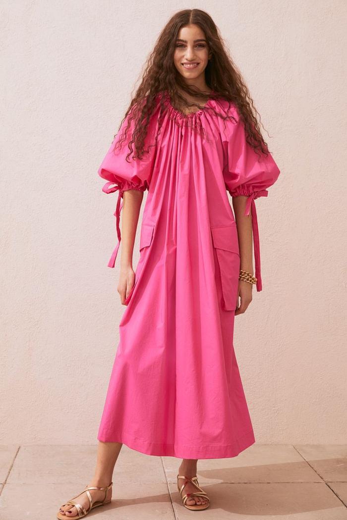 H&M Wide Cotton Dress