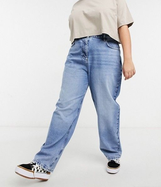 Collusion Baggy Dad Jeans