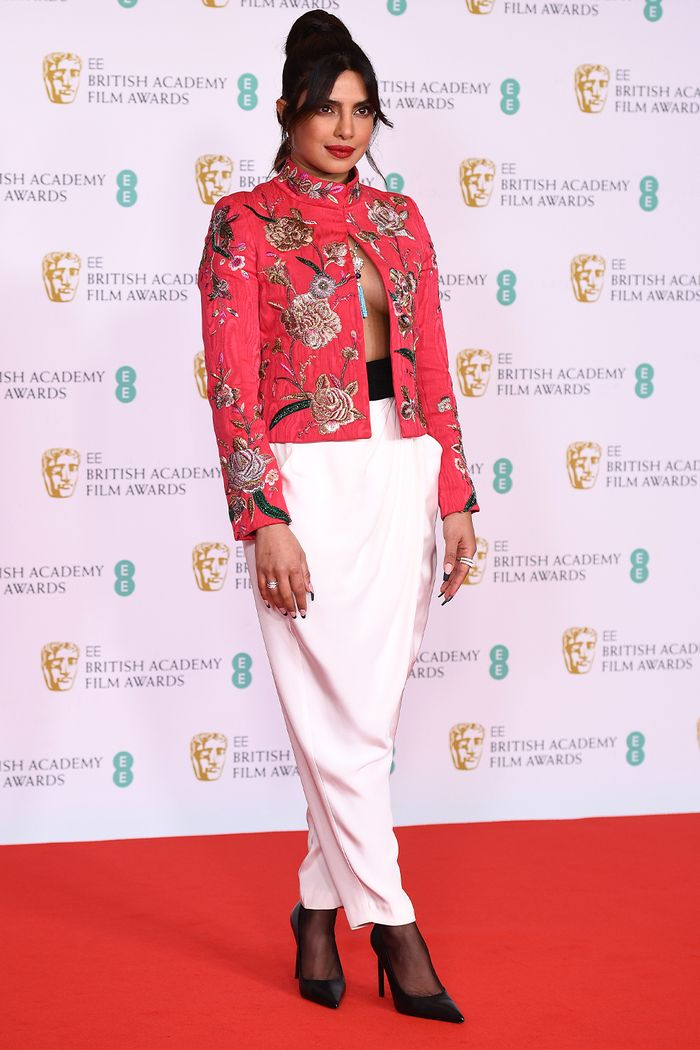 2021 BAFTAs Red Carpet: Priyanka Chopra Jonas