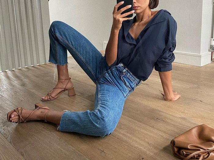 Fashion People Love Straight-Leg Jeans—Here's How They Style Them