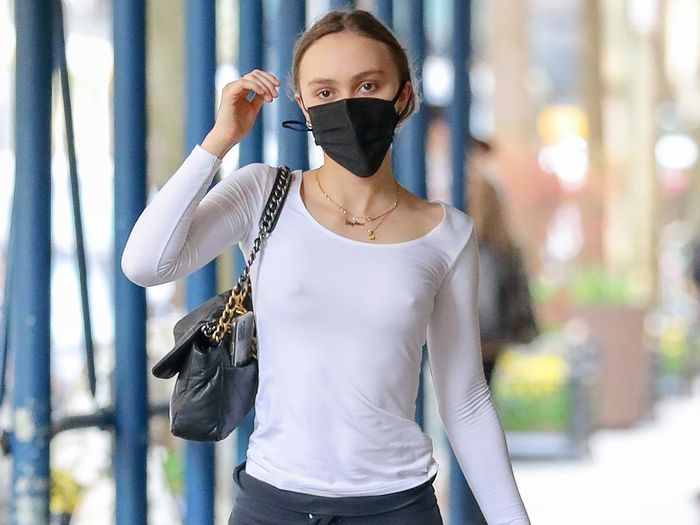 Lily-Rose Depp Wore the Pants Trend Gen Z Is Making a Thing
