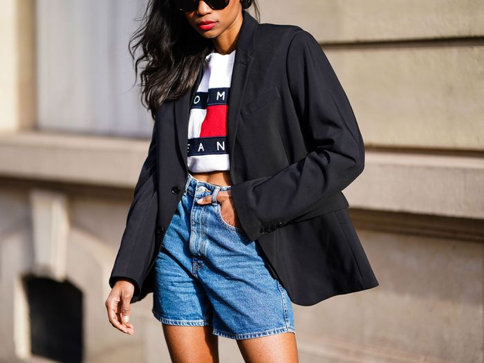 I Hate Skin-Tight Denim Shorts—Here's My Secret to Finding Relaxed Fits