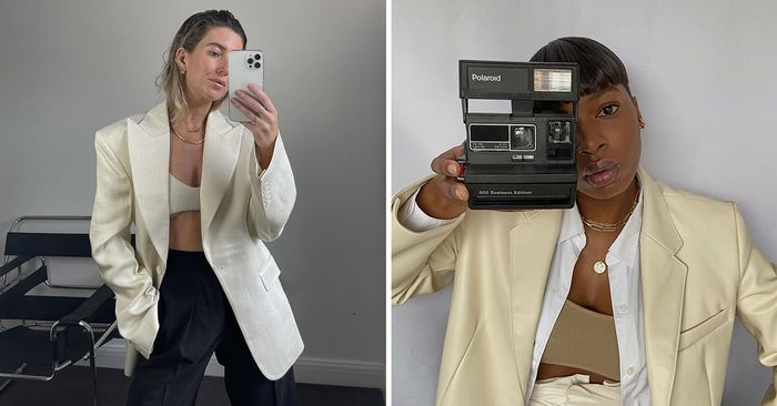 Bras and Blazers: It's a Controversial Look, But I'm Into It