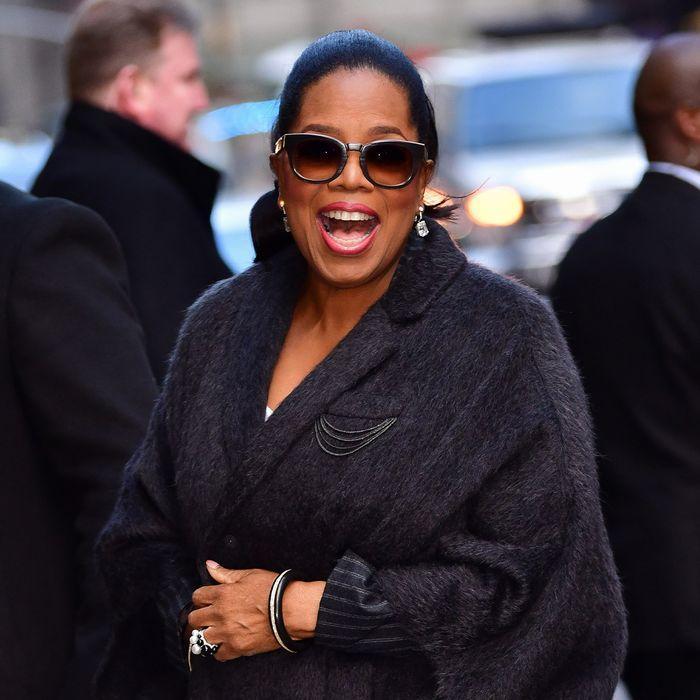 Rich-smelling perfumes: Oprah