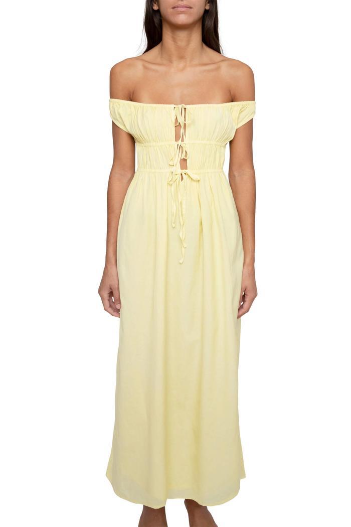 Gimaguas Antonia Dress Yellow