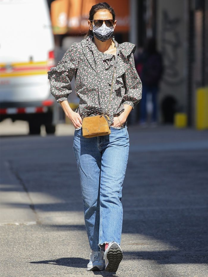 Katie Holmes wardrobe basics