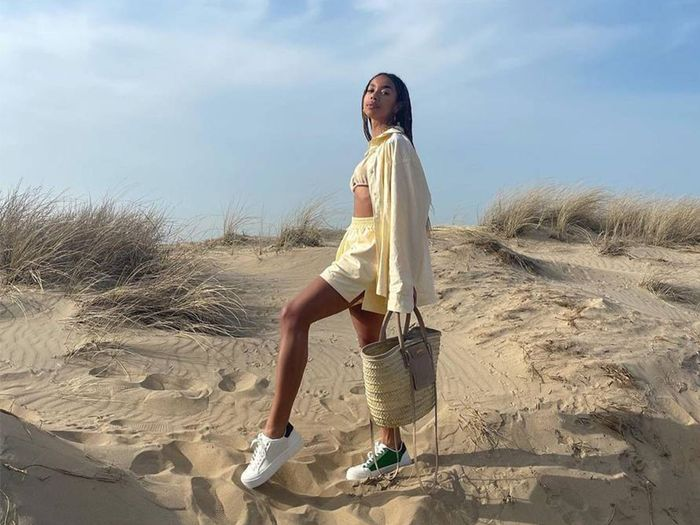 7 Ways Fashion Girls Are Making White Sneakers Look Cooler Than Ever