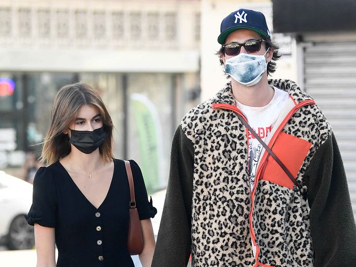 Kaia Gerber and BF Jacob Elordi Have the Same Taste in Affordable Sneakers