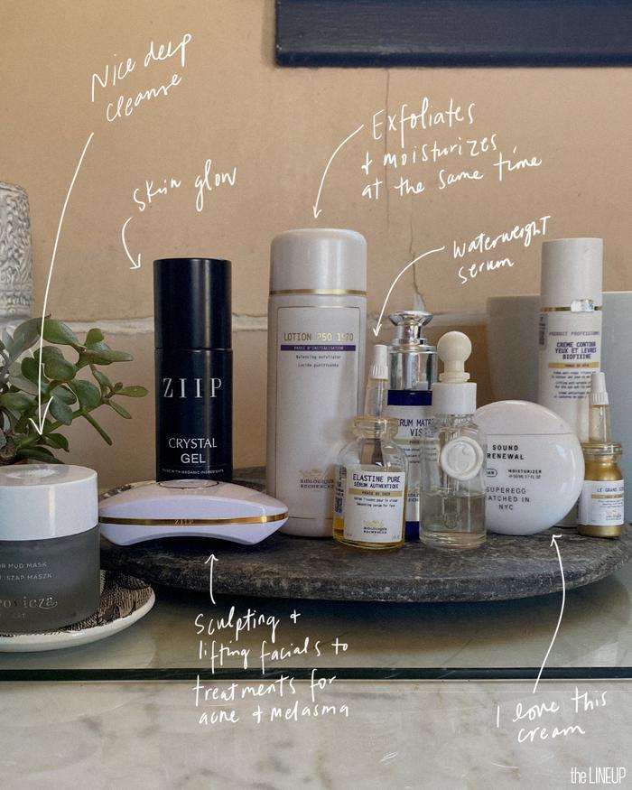 Melanie Simon's go-to beauty products