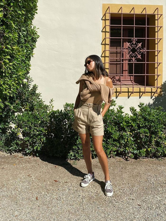 Shorts outfit idea