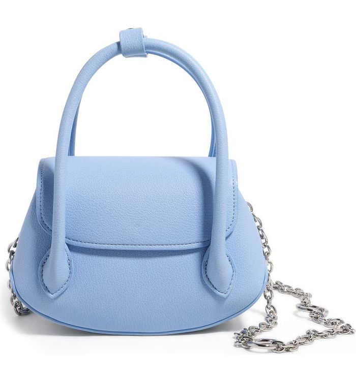 House of Want We Shimmy Mini Vegan Leather Top Handle Crossbody