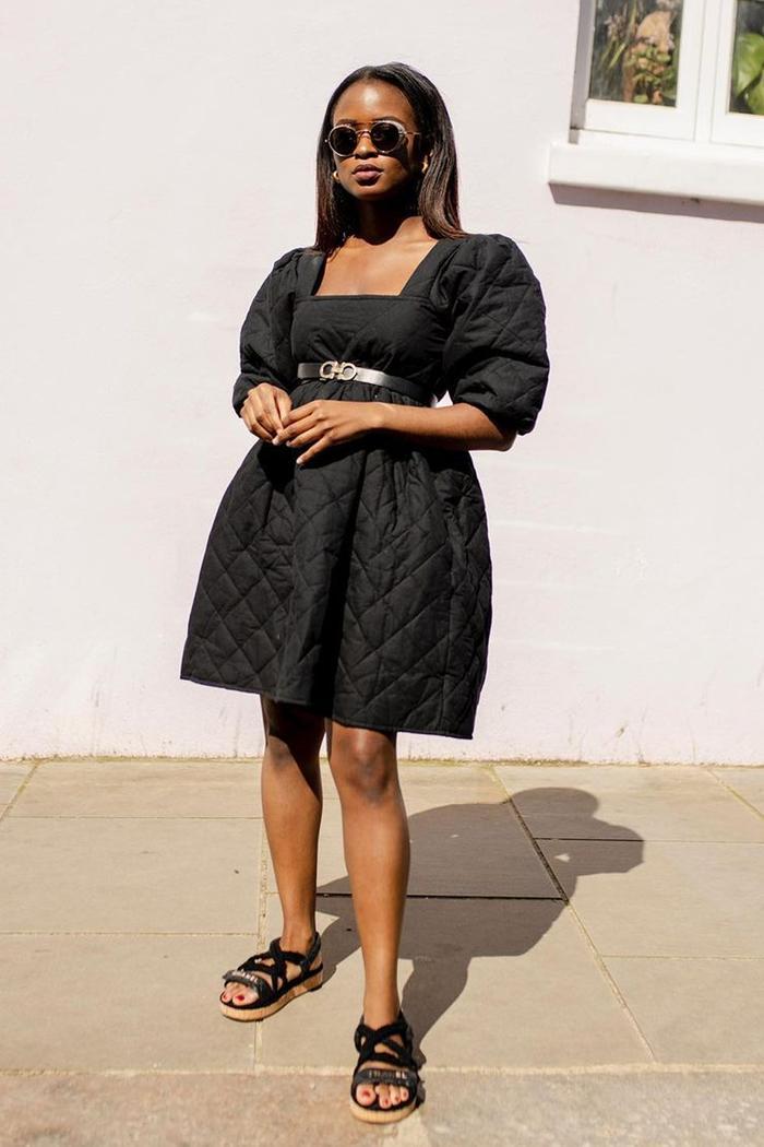 Black summer dresses: Enis