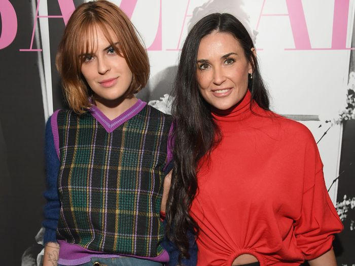 Demi Moore's Daughter Just Got Engaged With a Huge Stunner of a Ring