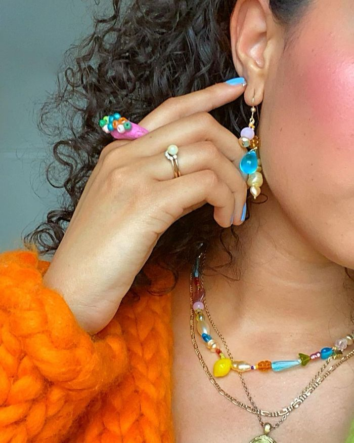 microtrends summer 2021: plastic and resin colourful jewellery