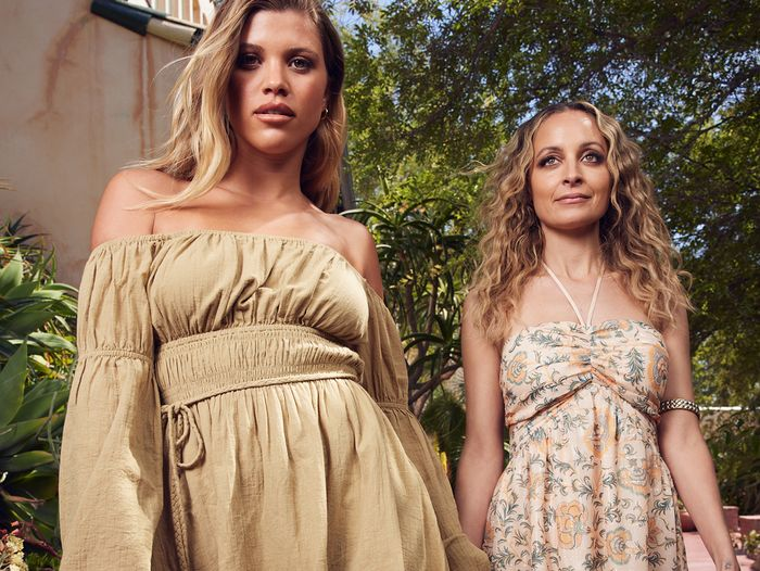 Nicole and Sofia Richie House of Harlow collection