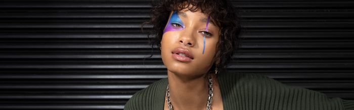 Here's a BTS Glimpse at the Punk-Rock Beauty Looks From Willow Smith's May Cover