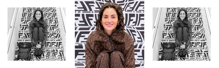 Meet The Artist Behind Fendi's Psychedelic New Logo